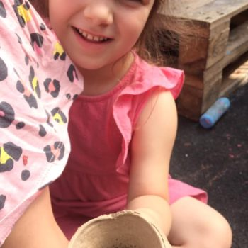 Making Clay Pots At Little Owls Childcare Near Swaffham (4)