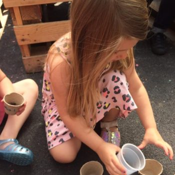Making Clay Pots At Little Owls Childcare Near Swaffham (5)