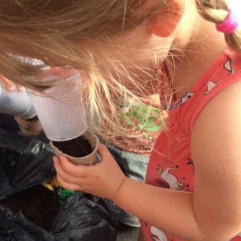 Making Clay Pots At Little Owls Childcare Near Swaffham (6)