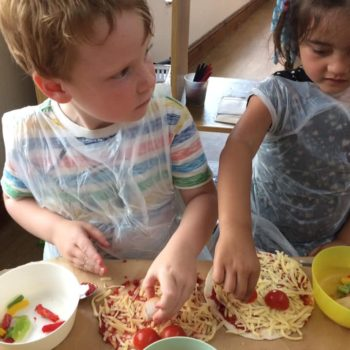 Pizza Making At Little Owls Daycare In Norfolk (1)