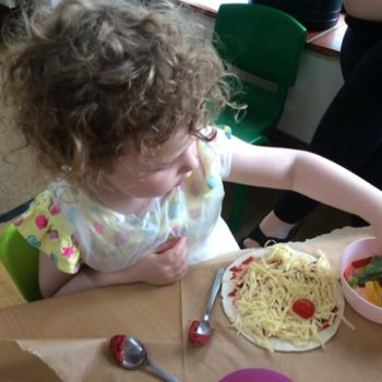 Pizza Making At Little Owls Daycare In Norfolk (2)