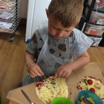 Pizza Making At Little Owls Daycare In Norfolk (3)