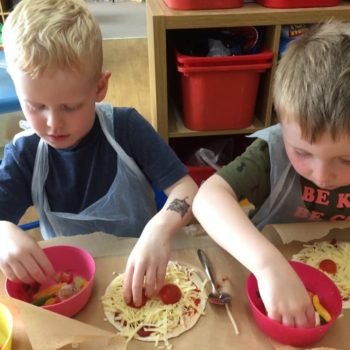 Pizza Making At Little Owls Daycare In Norfolk (4)