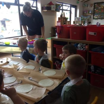 Pizza Making At Little Owls Daycare In Norfolk (5)