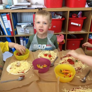Pizza Making At Little Owls Daycare In Norfolk (6)