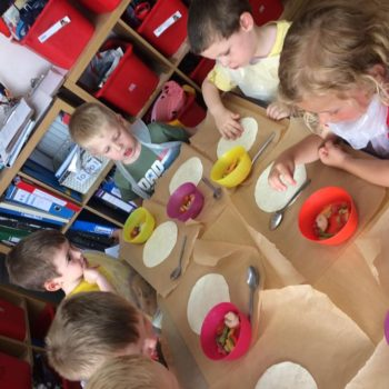 Pizza Making At Little Owls Daycare In Norfolk (7)