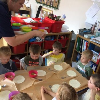 Pizza Making At Little Owls Daycare In Norfolk (8)