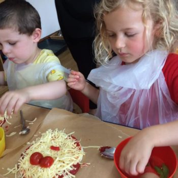 Pizza Making At Little Owls Daycare In Norfolk (9)