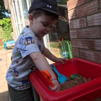 Sandpit Play At Little Owls Day Care In Norfolk (1)