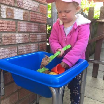 Sandpit Play At Little Owls Day Care In Norfolk (2)