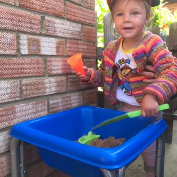 Sandpit Play At Little Owls Day Care In Norfolk (5)