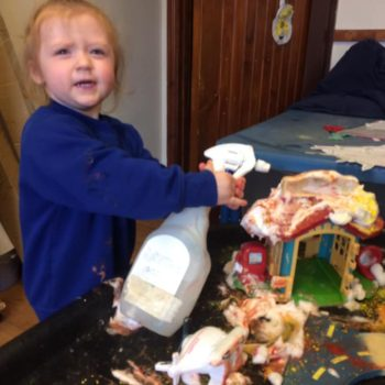 Messy Play At Little Owls Baby Care In Norfolk (1)