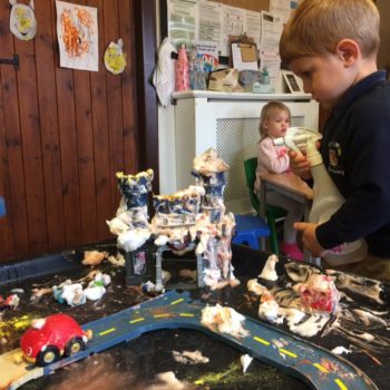 Messy Play At Little Owls Baby Care In Norfolk (3)