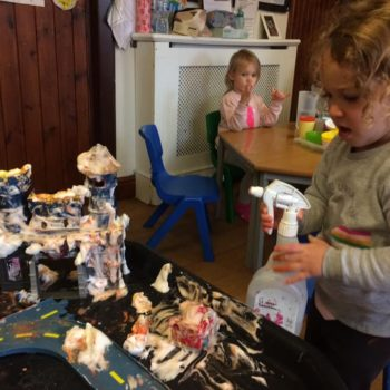 Messy Play At Little Owls Baby Care In Norfolk (4)