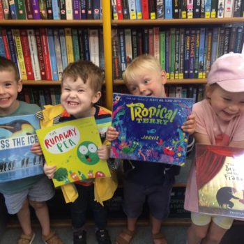 Little Owls Visit To The Library Bus (1)