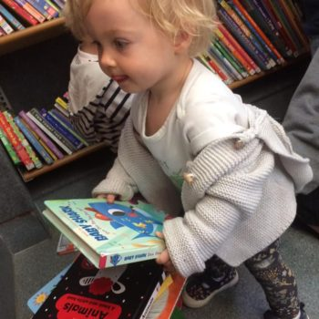 Little Owls Visit To The Library Bus (8)