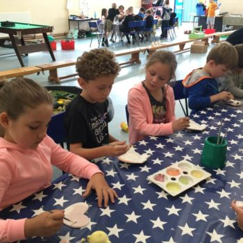 Painting Our Own Pottery At Hoots Summer Holiday Club (9)