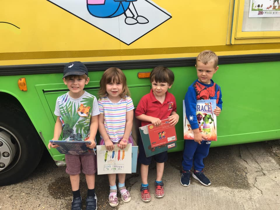 The Library Bus At Little Owls Day Nursery Norfolk (6)