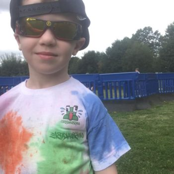 Tie Dying At Hoots Holiday Club In Norfolk (1)