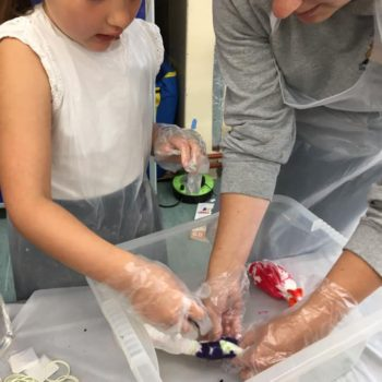 Tie Dying At Hoots Holiday Club In Norfolk (12)