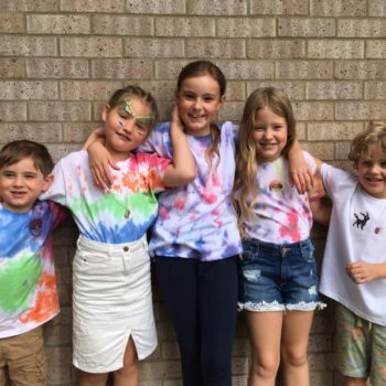 Tie Dying At Hoots Holiday Club In Norfolk (6)